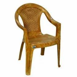 Neelkamal Brown Plastic Chairs
