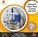 Hydraulic Double Die Paper Dish Making Machine