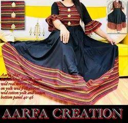 Flared Gown Arfa 1897