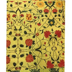 Digital Flower Print Kurti Fabric