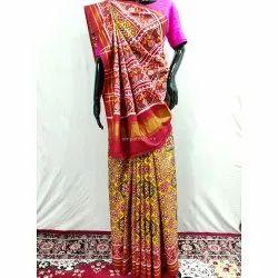 Pure Silk Double Ikat Patan Patola Saree