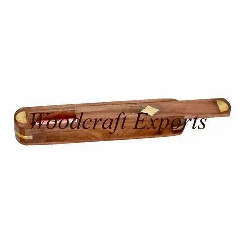 Woodcraft Exports Brown Wooden Handicraft Box