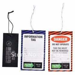 Garments Paper Tag