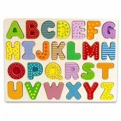 Alphabet Peg Board