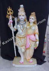 Marble Ardhnarishwar Statues