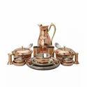 Luxury class Copper Utensils dinner set
