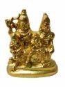 Gold Plated Shiv Parivar