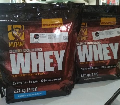 Mutant Whey Protein, Packaging Type: Pouch