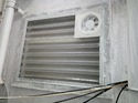 Toilet Louvers with Exhaust Fan