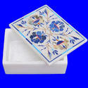 Marble Box With Inlay Design