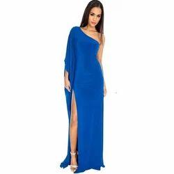 Ladies Royal Blue Gown