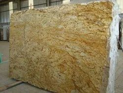 Golden Polished Ivory Gold Granite, Thickness: 20-25 mm