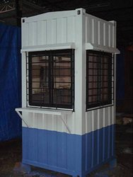 Mild Steel Portable Security Cabin