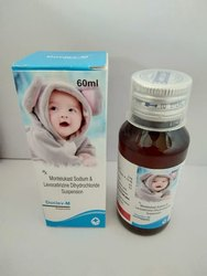 Montelukast Sodium & Levocetirizine Dihydrochloride Suspension, 60 ml