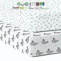 Cotton fitted bassinet sheets