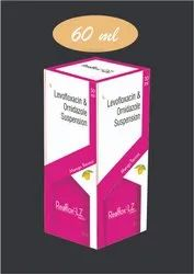 Kids Levofloxacin 125mg Ornidazole 125mg Susp, For Clinical, Packaging Type: Bottle With Cover