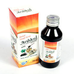 Ayurvedic Cough Syrup with Tulsi and Honey