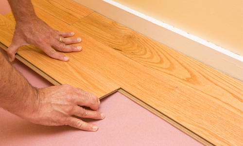 Interlocking Vinyl Flooring At Rs 155, Interlocking Laminate Flooring