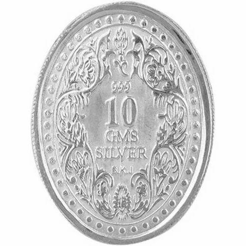 10 Gms Silver Coins Wedding