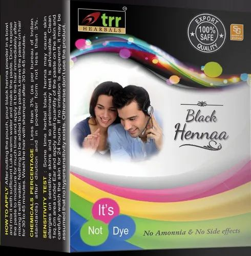 Trr Herbals Black Henna Powder For Personal Rs 216 Pack Id