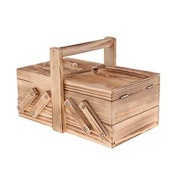 Rectangle Wooden Tool Box