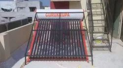 Solar Water Heater With Monkey Guard