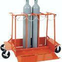 Double Gas Cylinder LPG Trolley