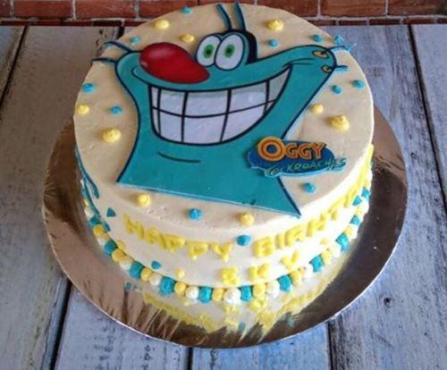 Oggy Birthday Cake Birthday Cake Cathy Confectioners Patna ID