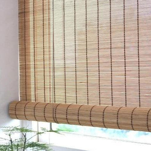 Bamboo Brown Vertical Chick Blind Rs 23 Square Feet