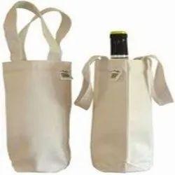 Plain Canvas Wine Bag