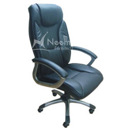 NF-104 Black High Back Chair