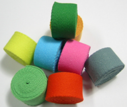 Yarn Dyed Twill Tapes
