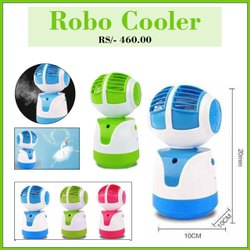ABS Usb Robo Cooler, Size: Medium