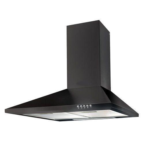 Black And Modern Kitchen Chimney