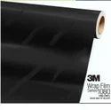 Black Car Wrap Vinyl Roll, Size: 48