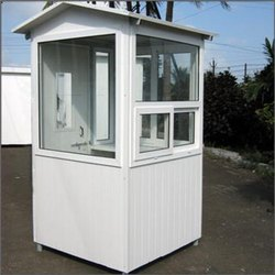Steel Panel Build Guard Huts, for Security Cabins