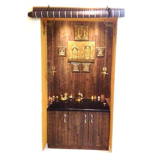 Living Room Wooden Mandir Design For Home Modern Pooja