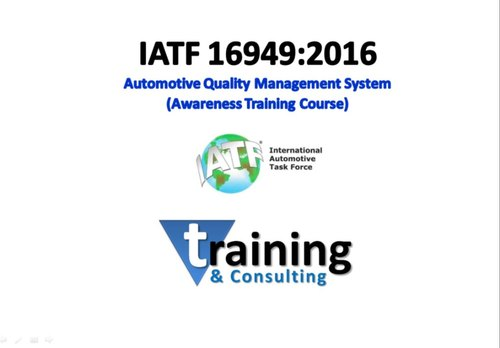 IATF 16949:2016 Awareness Training