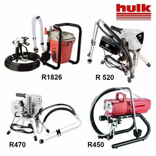 Airless Paint Putty Sprayers Airless Spraying Machines