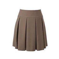 Girls School Uniform Short Skirt