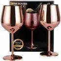 Handmade Copper Brass Champagne Wine Glass