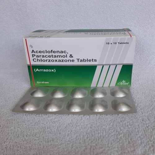 Aceclofenac Paracetamol And Chlorzoxazone Tablets