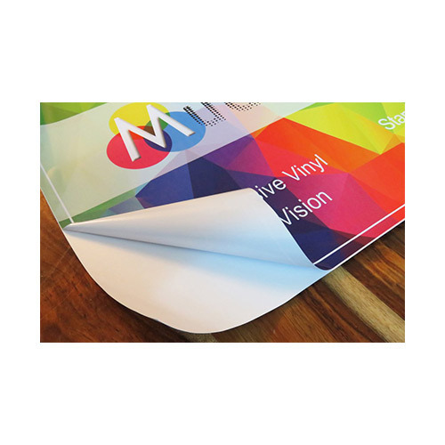 Self adhesive vinyl label printing services