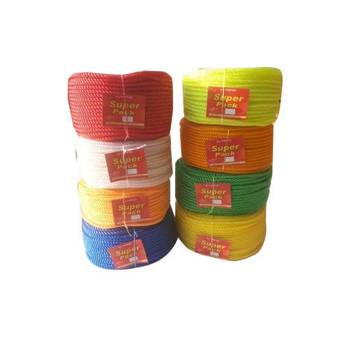 White And Orange PVC Plastic Ropes, Usage: Industrial, Rescue Operation