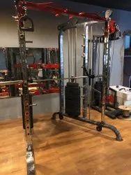 Gamma Fitness Functional Trainer Cum Smith Machine
