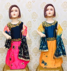 Kids Lehenga Choli Designs
