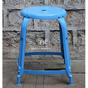 Blue Color Round Bar Stools