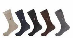 Assorted Cotton HRG Socks 4500-A Series Motif Socks, Size: Free