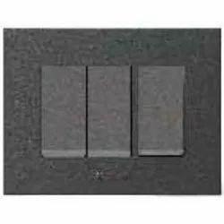 Caprina Series Black Switch Plate