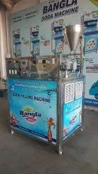 pet bottle soda filling machine